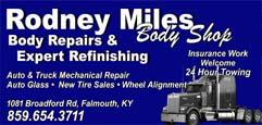 Rodney Miles Body Shop